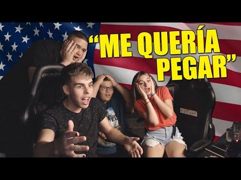 CASI NOS ROBAN EN ESTADOS UNIDOS   ANÉCDOTA ft Chigua y Manu