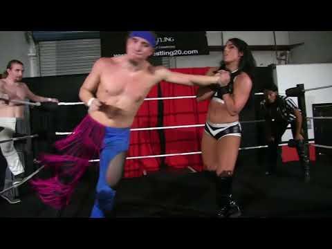 Tessa Blanchard & Lacey Lane vs Eric Lockhart & Andrew Lockhart