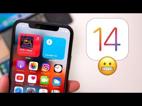 iOS 14 Beta 4 - Don't panic..
