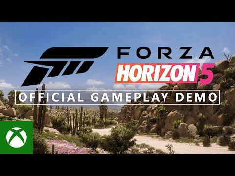 Forza Horizon 5 Official Gameplay Demo - Xbox & Bethesda Games Showcase 2021