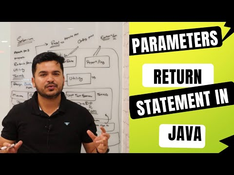 Passing parameter in method and return values in Java for Selenium Webdriver