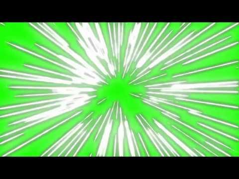 Efeitos de Poderes Cartoon - Cartoon Power Effects [Fundo Verde - Chroma Key]