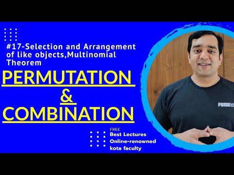 # 17 Permutation And Combination IIT JEE Mathematics