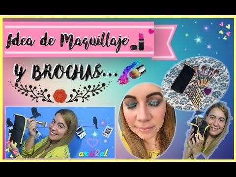 Brochas ANMOR + Maquillaje (TUTORIAL)   arii2cl
