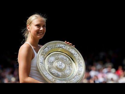 Maria Sharapova - 5 Grand Slam Championship Points