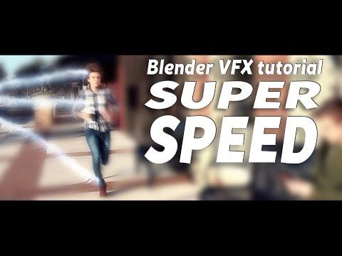 Blender VFX tutorial: Super Speed!
