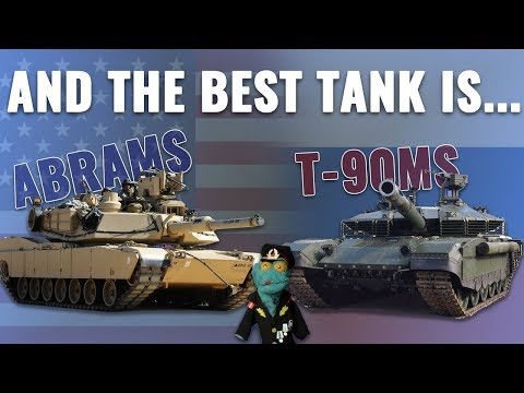 M1A2 Abrams SEP v3 vs T-90MS Tank comparison