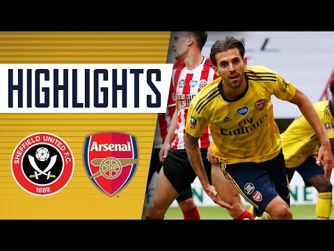 HIGHLIGHTS   Sheffield United 1-2 Arsenal   Emirates FA Cup