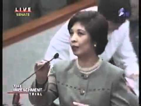 Impeachment Trial - Pres. Joseph Estrada - whistleblower.flv