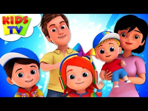 The Finger Family Song | Junior Squad Cartoons | +More Nursery Rhymes - Kids TV